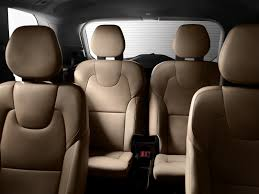 2013 Toyota Highlander Captains Chairs by Third Row Access With Car Seats