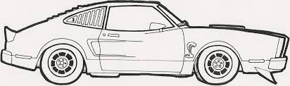 Coloring Pages Muscle Car