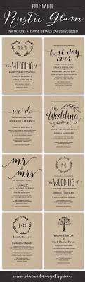 19 Easy to Make Wedding Invitation Ideas Pinterest