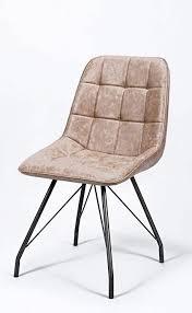 msz design 4er set esszimmer stuhl gitter dunkelbraun