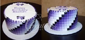 purple birthday cake gra nt tiles
