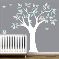 Pottery Barn Baby Wall Decor by Children Vinyl Wall Decals Tree Decal With Owls Nursery Kids Wall