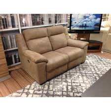 Atlanta Suede Effect Power Recliner 2 Seater Sofa
