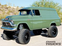 100 1957 Chevy Panel Truck 4X4 S For Sale Classic 4x4 S For Sale