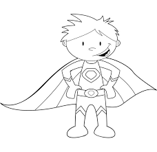 Free Superhero Coloring Pages To Print 15 25 Best Ideas About On Pinterest
