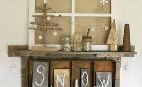 How To Make Rustic Trees And Junky Snowmen Shelf Decor Christmas Decorations Seasonal Holiday