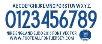 Football teams shirt and kits fan Font Argentina World Cup 2014