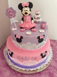 mon gâteau minnie je l adore toute ma décoration a était réalisée