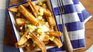 poutine cuisine fries with gravy and cheese poutine recipes sbs food