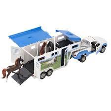 Breyer Stablemates Pick-Up Truck And Gooseneck Trailer Set - Toys