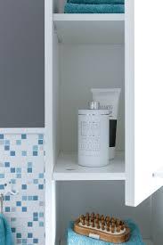 finebuy badschrank fb51822 modern holz 30 5 x 190 x 30 cm weiß badezimmerschrank mit 2 türen beistellschrank mehrzweckschrank hochschrank schmal