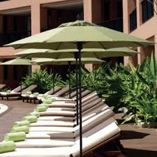 9 Ft Patio Market Umbrella by Commercial Umbrellas
