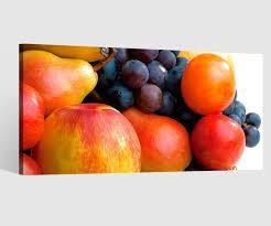 leinwandbilder birne apfel trauben obst küche früchte leinwand bild leinwandbild wandbild holz esszimmer 9bd023 wandtattoos und leinwandbilder