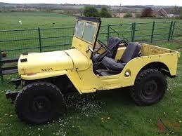 WILLYS JEEP - 1946 CJ2A - PART RESTORED