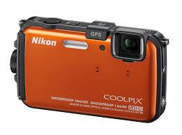 Amazon Nikon COOLPIX AW100 16 MP CMOS Waterproof Digital