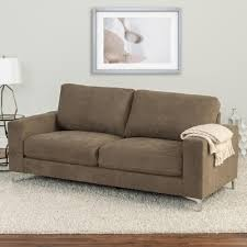 100 Cor Sofas Living Y Brown Chenille Fabric SofaLZY491S The Home Depot