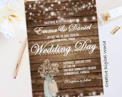 Rustic Wedding Invitations To Make More Dazzling 17