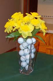 Golf Outing Table Centerpieces