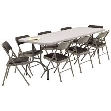 Folding Table And Folding Chairs Global Citi Square Lounge Chair