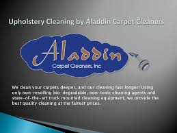 Upholstery Cleaning By Aladdin Carpet Cleaners By ...