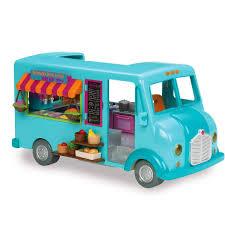 Amazon.com: Li'l Woodzeez Honeysuckle Street Treats Food Truck: Toys ...