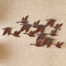 Bed Bath And Beyond Metal Wall Decor by Southern Enterprises Flock Of Geese Wall Art Ga1932r