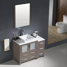Bathroom Vanity With Drawers On Left Side by 36 Inch Marble Top Bathroom Vanity Off Center Left Side Sink