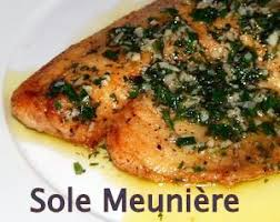 cuisiner sole sole meuniere the recipe easy and authentic