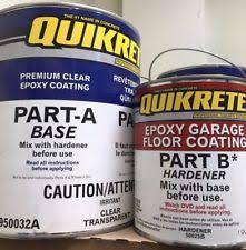 Quikrete Garage Floor Coating Colors by Garage Floor Epoxy Ebay