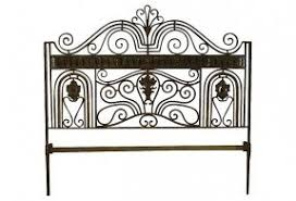 White Wrought Iron King Size Headboards by Iron Headboards King Size Foter