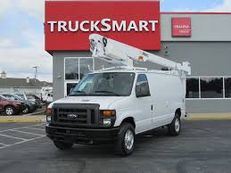 2012 FORD E350 BUCKET SERVICE - UTILITY TRUCK FOR SALE #11123