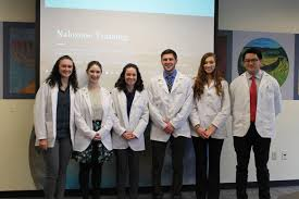 Halloween H20 Mask Controversy by Pharmacy Students Combat Opioid Epidemic Offer Training U2013 The Beacon