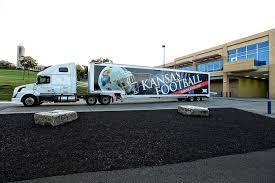 100 Kansas Truck Equipment RCW Taking Football On The Road University Of Athletics