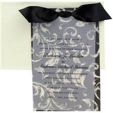 His Hers Black Cream Vellum Wedding InvitationsHobby Lobby Has Pretty And White Invitations Similar To The Ones At Target