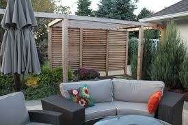 Louvered Garden Privacy Wall | Creative Backyard Fence Ideas ... Outdoor Privacy Wall Modern Minimalist Decoration Dividers For Privacy Fencing Ideas For Backyards Backyard Fence Ideas Deck Pictures Deks And Tables With A Interesting Home Backyards Fascating Fniture Images About And Divider 2017 Savwicom 27 Ways To Add Your Hgtvs Decorating Cheap Peiranos Fences Unique City Backyard Landscape Contemporary With Garden Concrete Living Garden Design Along Interior Keep Private Space Wondrous Screens An Almost
