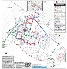 100 Truck Route Map S Stanford Parking Transportation Services