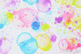 Heres How To Paint With Bubbles