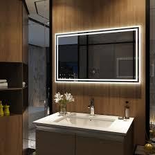40 cm wenezia led badspiegel rund alasta led beleuchtet