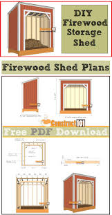 Ana White Firewood Shed by 221 Best Sheds Images On Pinterest Garden Sheds Backyard Sheds
