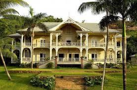 French Caribbean Plantation Architecture Dominican Republic