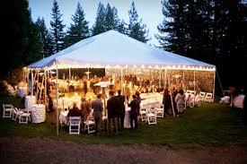 Outdoor Tent Garden Party Wedding