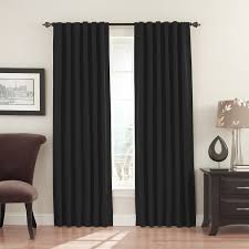 Eclipse Blackout Curtains 95 Inch by Interior Types Of Windows With Eclipse Blackout Curtains