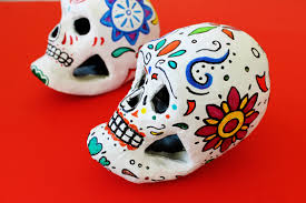 Easy Sugar Skull Day Of by Easy Day Of The Dead Painted Skull Craft