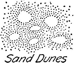 Sand Dunes Relief Or Terrain Topography Symbol