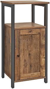 vasagle beistellschrank kleiner küchenschrank flurschrank küche wohnzimmer esszimmer büro badezimmer flur industrie design vintage