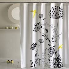 Shower Curtain Ideas For Small Bathrooms 25 Unique Designer Shower Curtains In The Bathroom For A