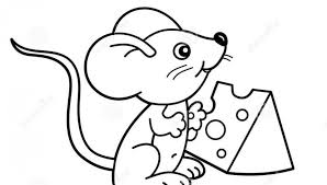 Printable Cheese Pizza Coloring Page Free Pages Kids 960