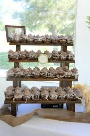 Wooden Cake Stands The Cupcake Stand 4 Tiered Rustic Display Like This Item Ebay