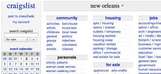 Front Desk Jobs Nyc Craigslist by Craigslist Updates Tos Now Effectively Owns Your Ads Plagiarism