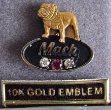 Vintage Mack Truck 10k Gold Emblem Bulldog With Diamonds & Ruby Pin ... Trucks Bulldog Mack Wallpaper Awallpaperin 1763 Pc En Antiques Atlas 1930s Cubist Mac Bulldog Plated Car Truck Mascot Vintage Mack Hood Ornament 87931 Chrome Hot Rod Rat The Old Logo Pinterest Trucks Racing Tandem Thoughts Bulldogs Bikes And Jackasses Not Your Typical Tote Bag For Sale By Jill Reger 10k Gold Emblem With Diamonds Ruby Pin Wdvectorlogo Wikipedia Years Memorable Mascots Home Type Large
